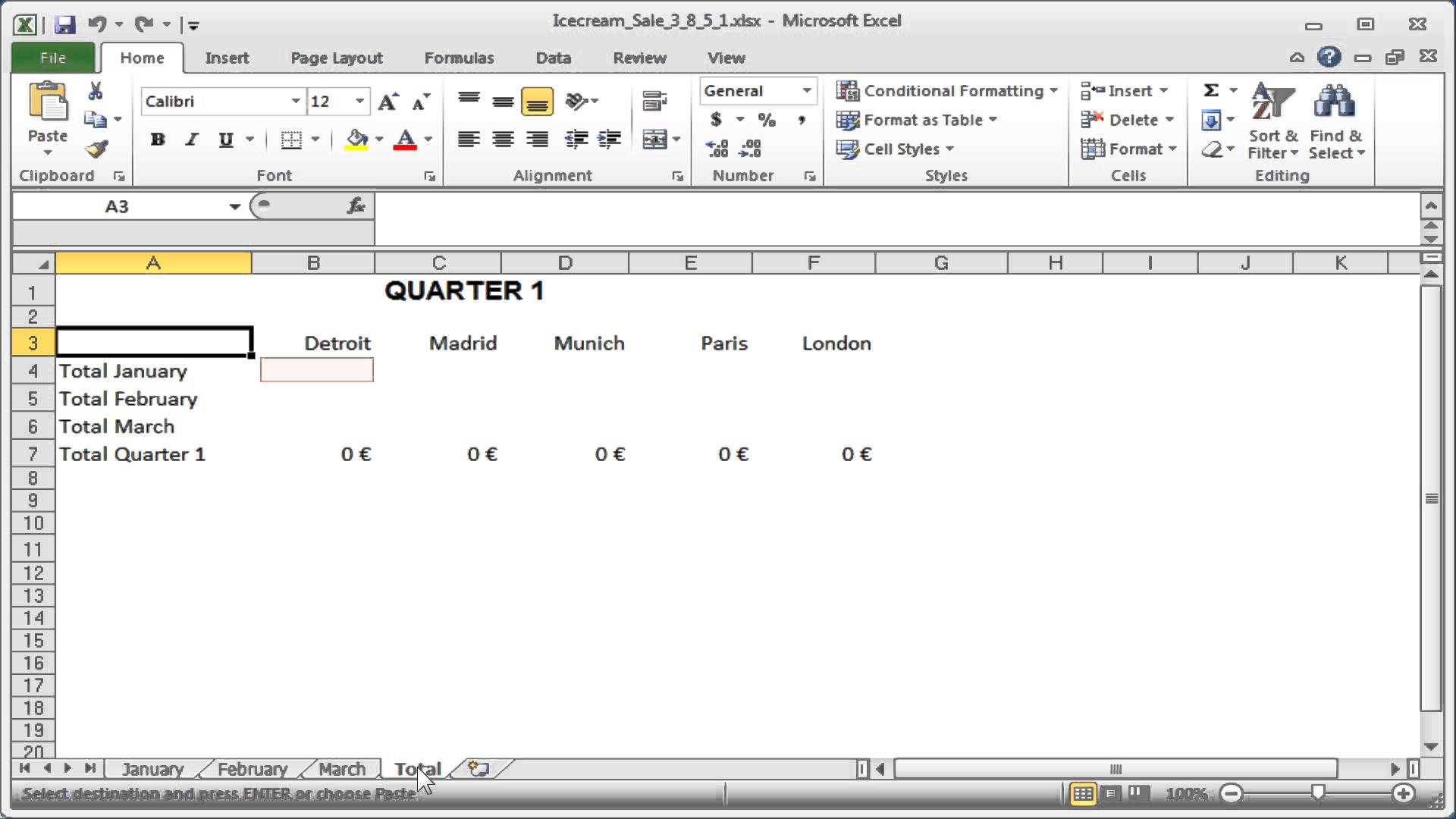 Excel Pasting Combining Data