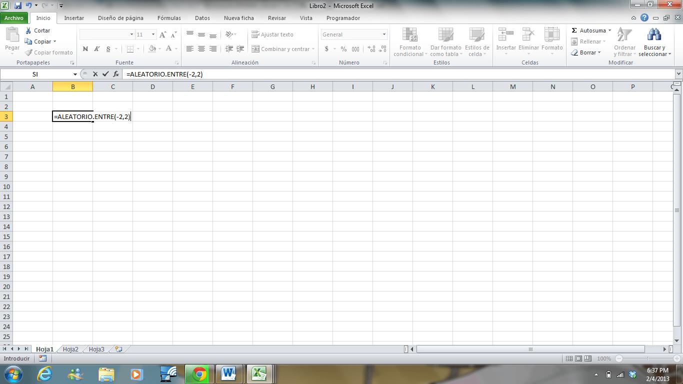 Uso De Worksheetfunction Randbetween Excel Avanzado