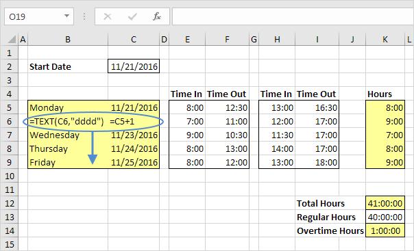 Date Formulas