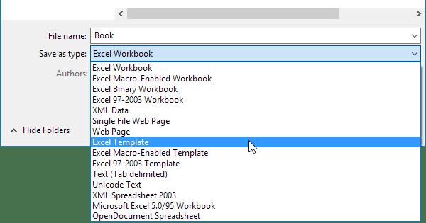 Default Templates in Excel - Easy Excel Tutorial