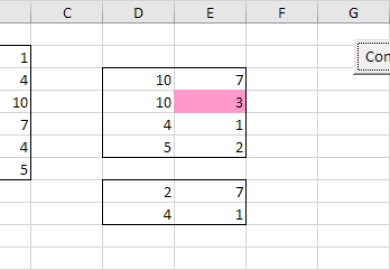 Excel Vba Compare Cell Values Different Sheets