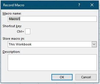 Makro aufzeichnen