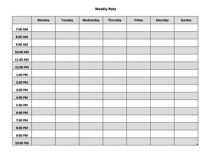 daily attendance sheet template free - Military.bralicious.co