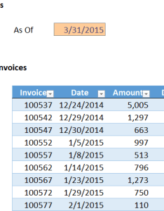 Invoice table by jeff lenning also histogram with  pivotchart excel university rh