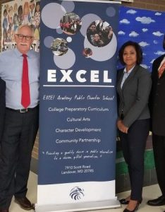 Superintendent dr kevin maxwell visits excel academy also public charter school rh excelacademypcs