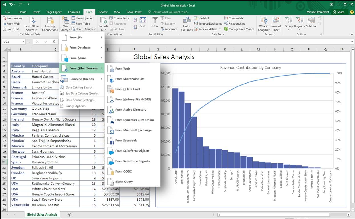 Excel Applications Development