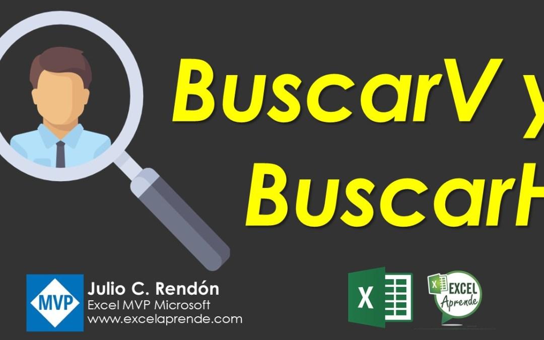 Funciones BuscarV y BuscarH | Excel Aprende