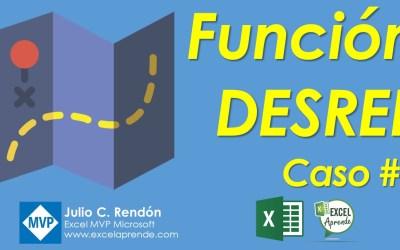 Función DESREF Caso #1 | Excel Aprende