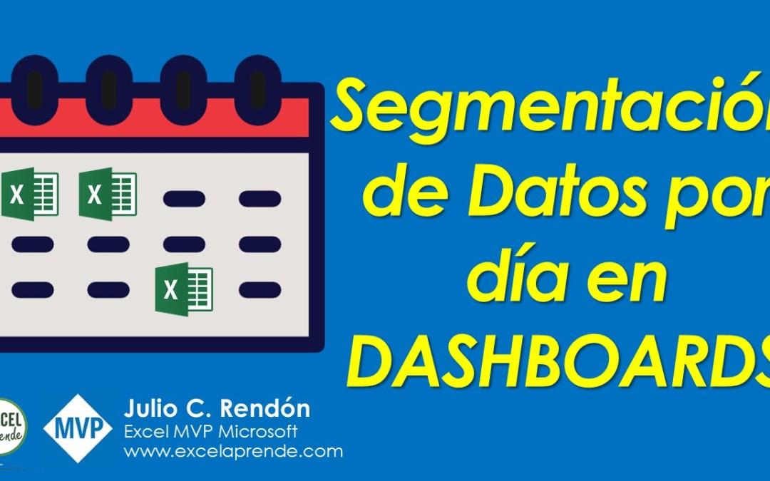 Segmentación de Datos por día en Dashboards | Excel Aprende