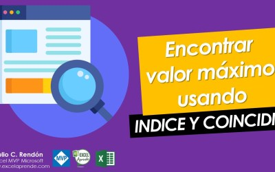 🔥 Encontrar valor máximo usando INDICE Y COINCIDIR | Excel Aprende