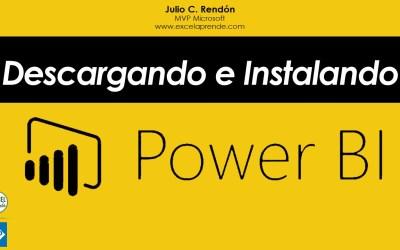 Descargando e Instalando Power BI – Crear cuenta y acceder a Power BI Pro | Excel Aprende