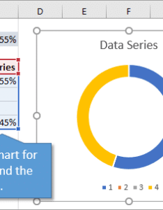 Insert the progress doughnut chart with conditional formatting also in excel rh excelcampus