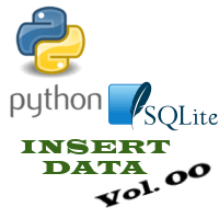 Python SQLite: INSERT data | simple example | EXCELCISE