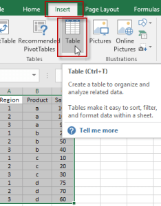Insert excel table also how to add  grand total line on an stacked column pivot chart rh exceldashboardtemplates