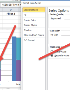 Aligned stacked and non clustered column chart also how to create  unstacked in excel rh exceldashboardtemplates