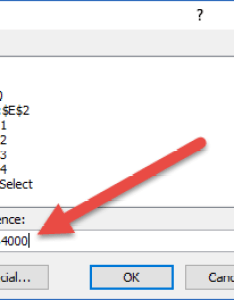 Go to dialog box contiguous range also alternate ways select large and non ranges in excel rh exceldashboardtemplates