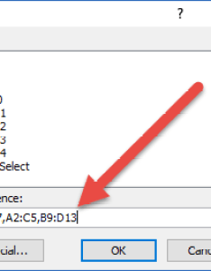 Go to dialog box non contiguous range also alternate ways select large and ranges in excel rh exceldashboardtemplates
