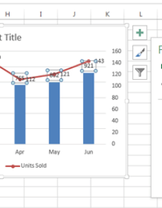 Elements of an excel chart also how to create  combo exceldemy rh
