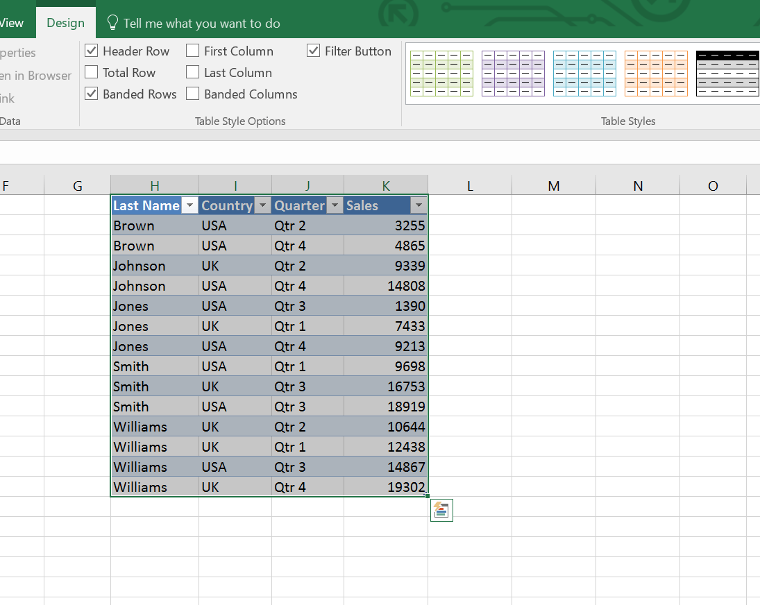 What Is The Difference Between A Table And A Range In Excel