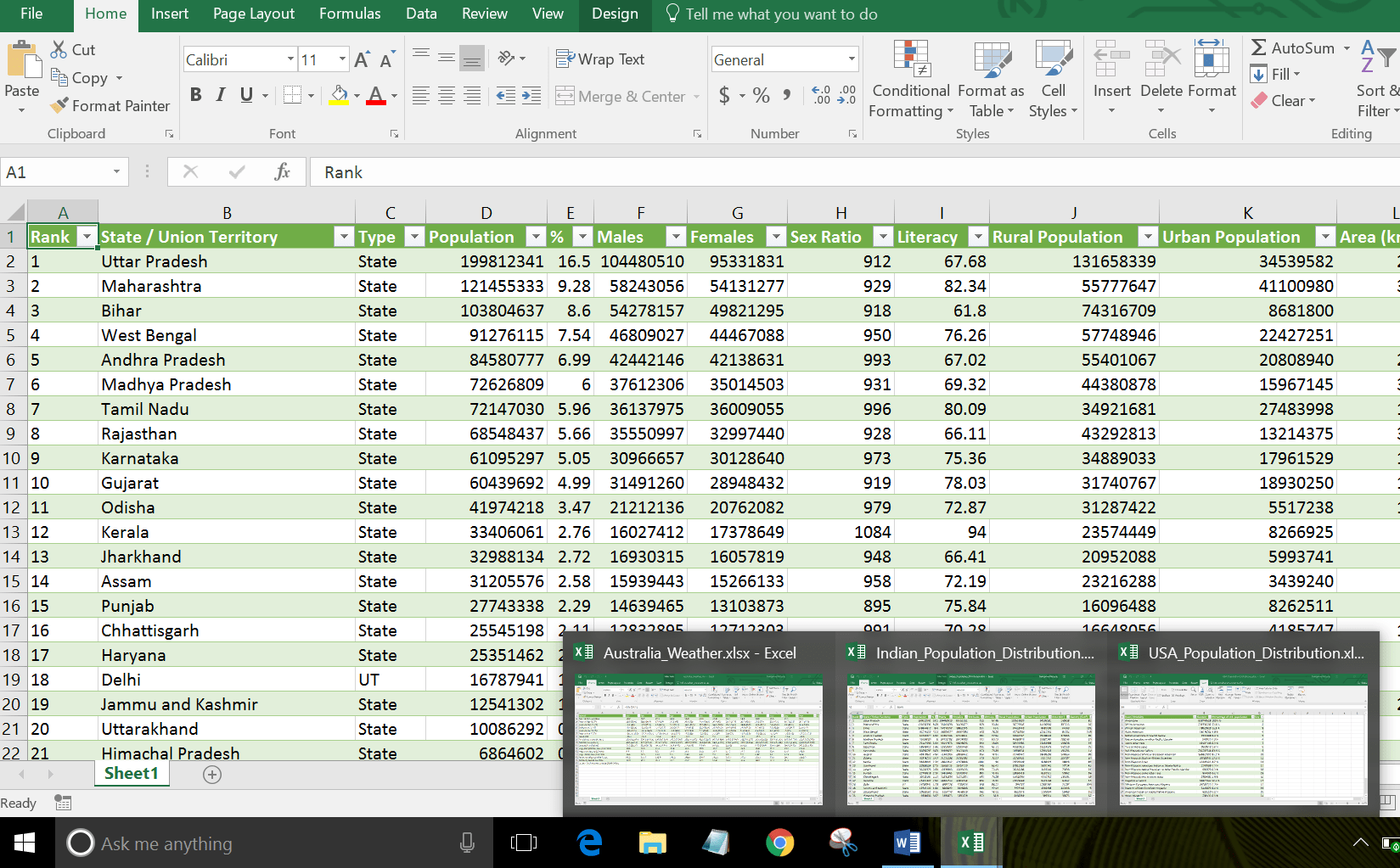 Viewing And Scrolling Multiple Excel Workbooks At The Same