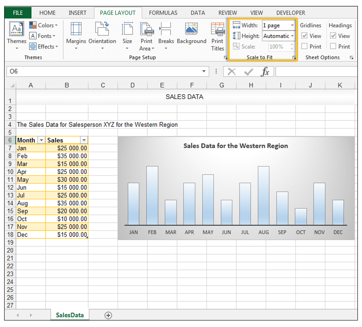 How To Print An Excel Sheet On One Page