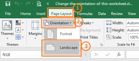 25+ Change Worksheet Orientation To Landscape Pictures and ...