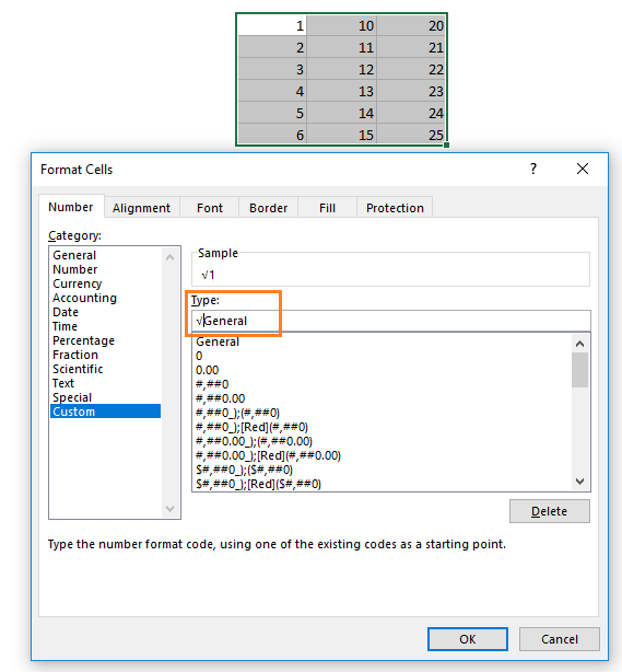 How to insert square root symbol in Excel (7 easy ways)   ExcelDemy
