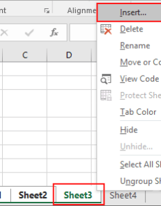Right click on one of the selected sheets and select insert excel also multiple chart vba rh exceldome