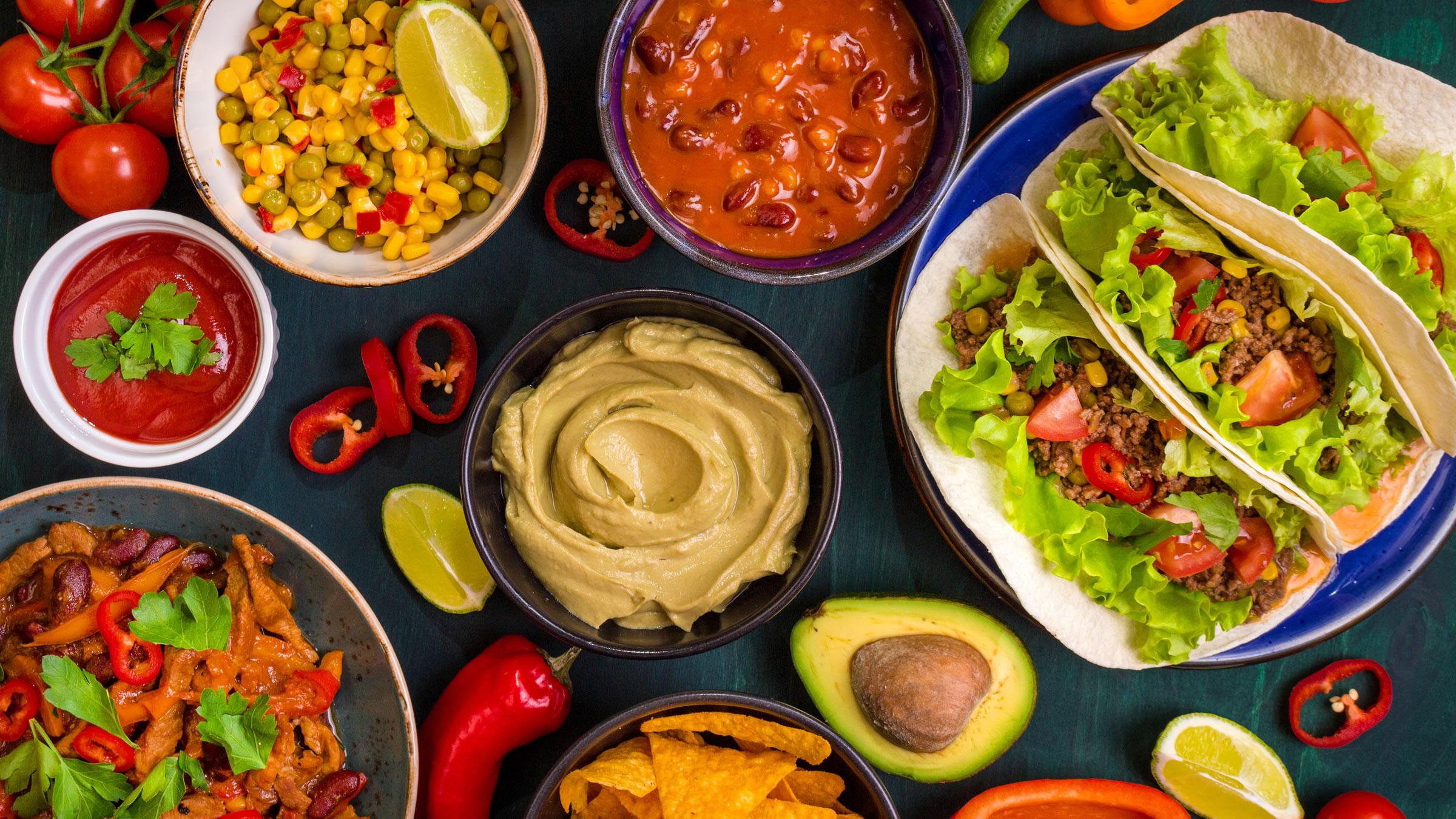 Guacamole para celebrar el Da Nacional de la Gastronoma