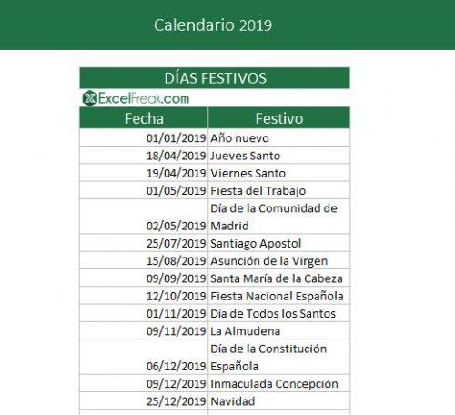 calendario-laboral-2019