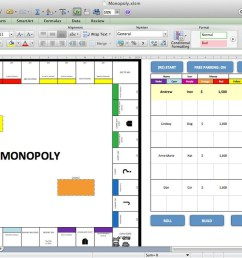 this simulation of the class board game monopoly is just one example of how far excel can go it began as a way to come up with new strategies for computer  [ 1200 x 750 Pixel ]