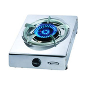 Gas Burner Single - with flame out sensor