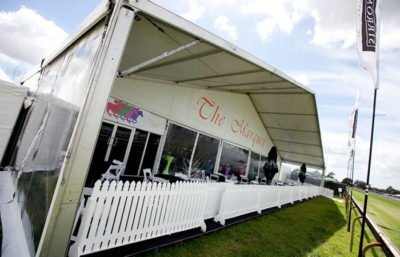 Race Day Event Marquee