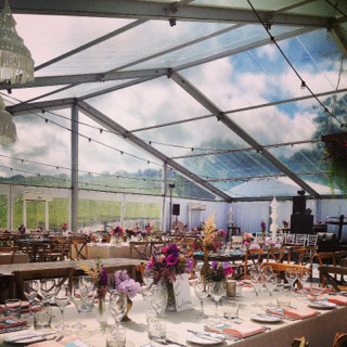 Stunning Clear Roof Marquee