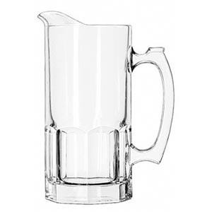 Toscana Glass Water Pitcher