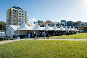 University 25th Anniversary Celebrations in style under Marquee
