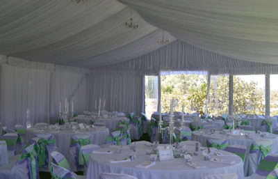 Wedding Marquee in Grounds