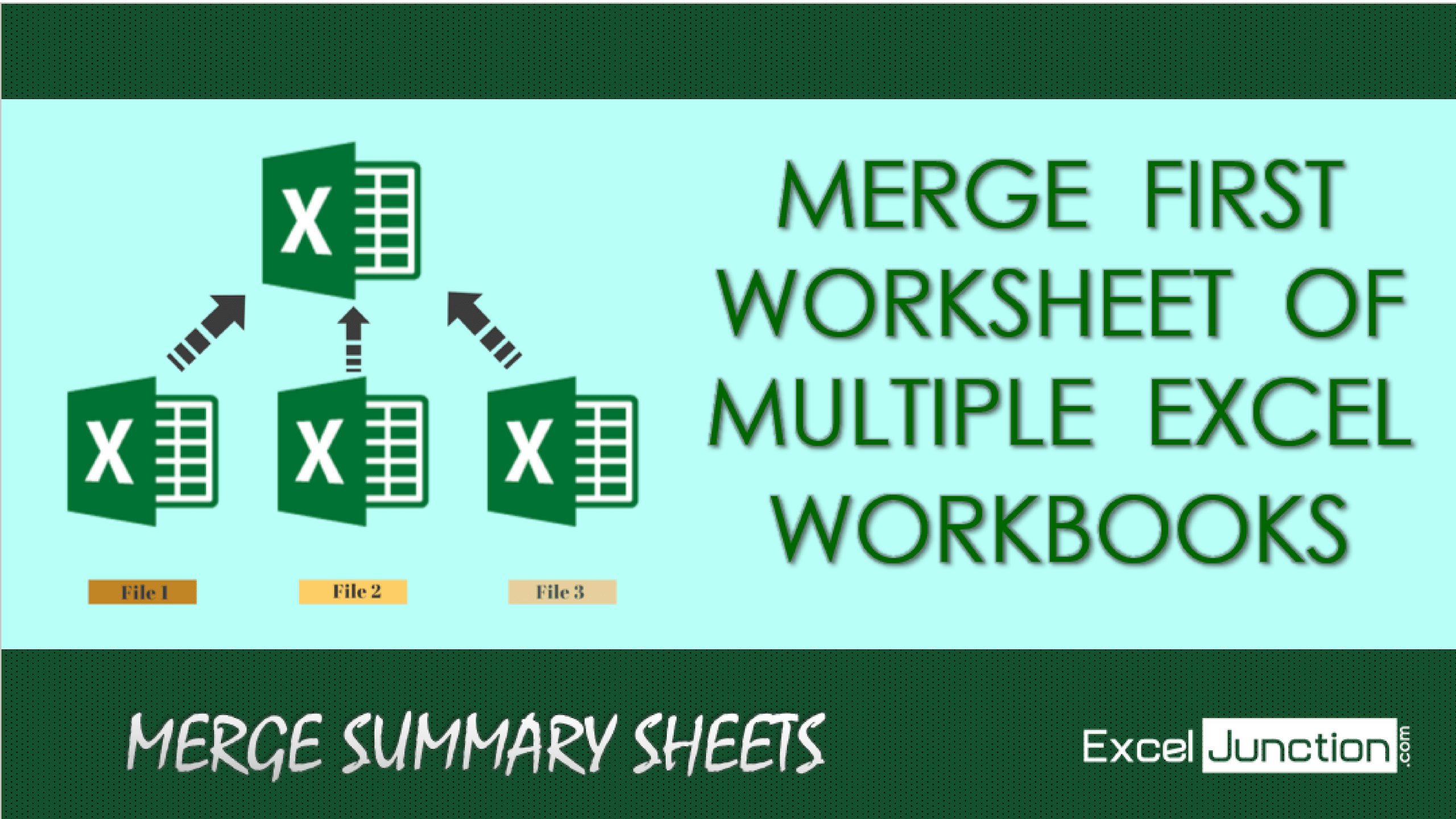 Merge First Worksheet