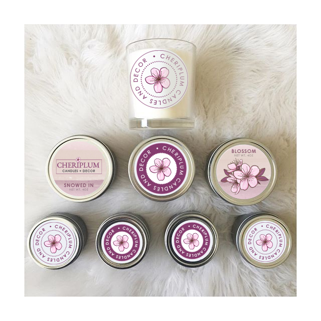 Soy Candle Boutique Branding