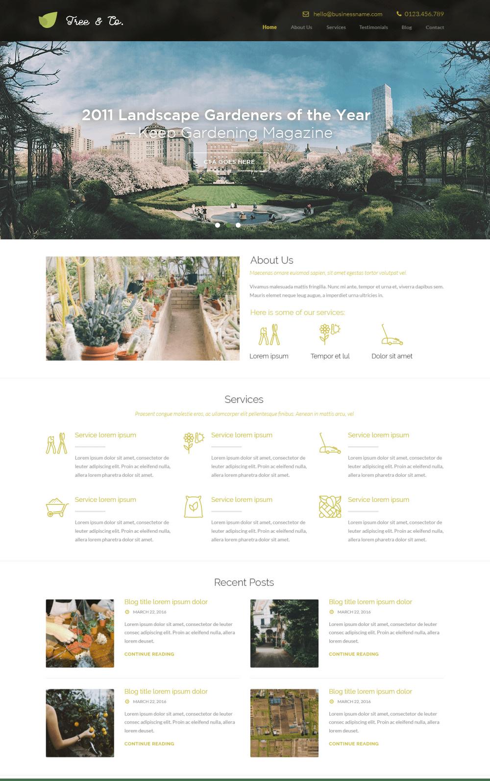 gardening - Portfolio