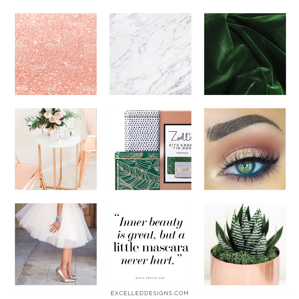 Blinx & Beauty Moodboard