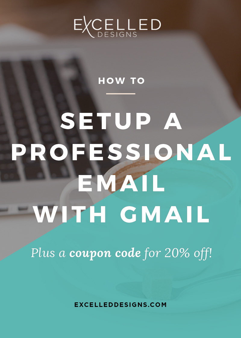 How to Setup a Professional Email with Gmail
