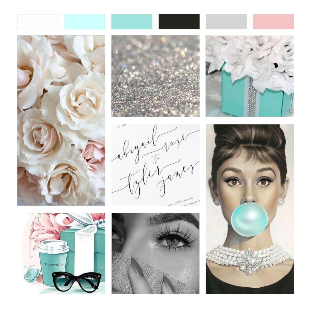 Moodboard Design Tiffany Blue Robins Nest Egg Pink