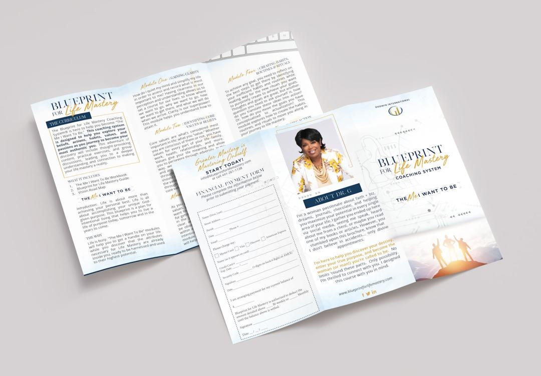 "BPFLM Brochure Mock min - Dr. G's ""Blueprint for Life Mastery"" Course"