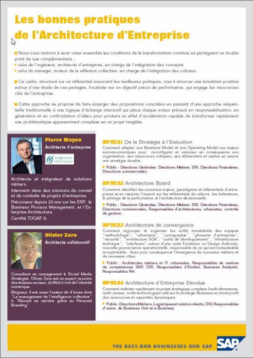Flyer SAP
