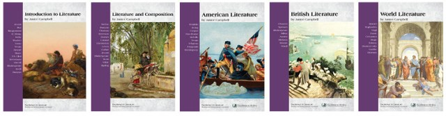 Excellence in Literature book covers