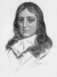 John Milton, date and artist unknown, published in Little Journeys to the Homes of English Authors, 1916.