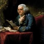 Benjamin Franklin, 1767, by David Martin