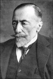 Joseph Conrad, photographed by an unknown artist.