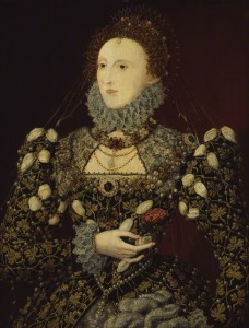 Queen Elizabeth I by Nicholas Hilliard oil on panel, circa 1575 (NPG 190) © National Portrait Gallery, London Creative Commons License